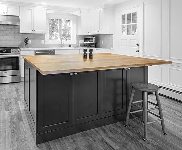 Cherry Flat Sawn Counter Top