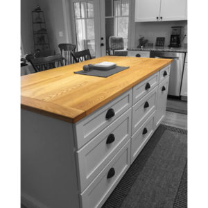 Ash Flat Sawn Counter Top
