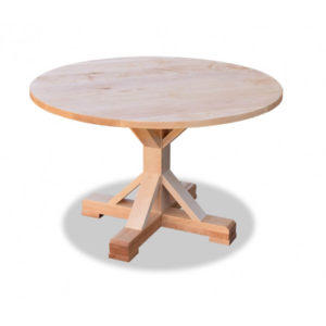 Round Barn Table - Maple