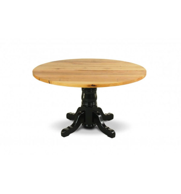 Round Barn Table - Classic Pedestal