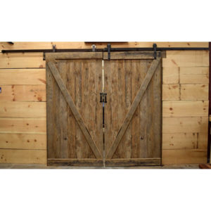 Reclaimed Oak Barn Doors - Z