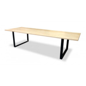 Denver Industrial Maple Conference Table