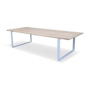 Denver Industrial Conference Table - white