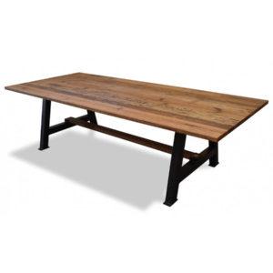 Pilsen Industrial Reclaimed Oak Table