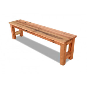 Reclaimed Oak Bench (H Base)