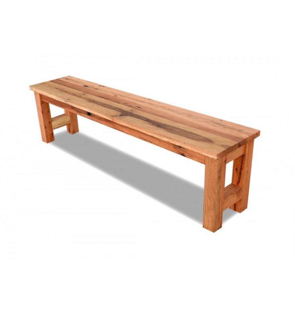 Reclaimed Oak Bench (H Base)