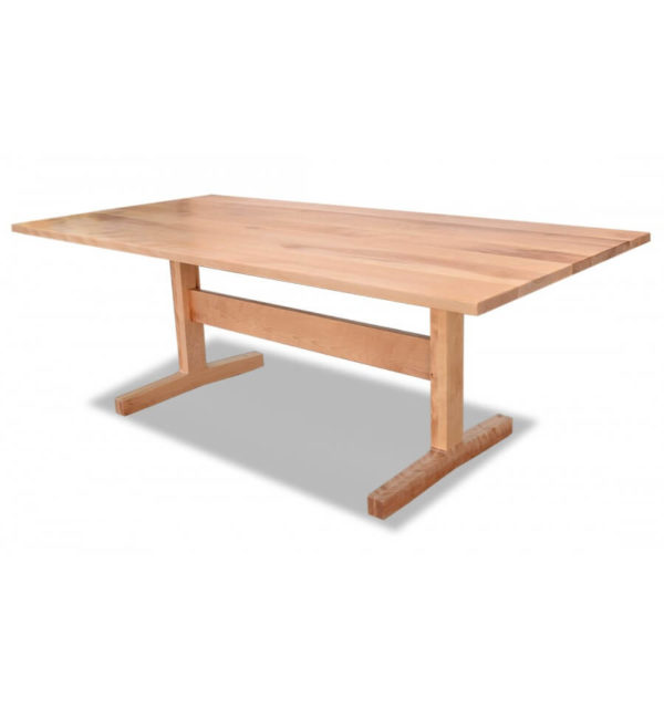 SoHo Birch Trestle Table