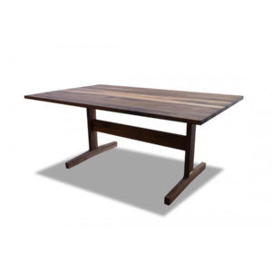 SoHo Walnut Trestle Table