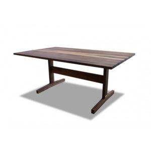 SoHo Walnut Trestle Table