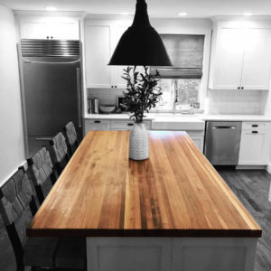 Walnut Butcher Block Counter Top