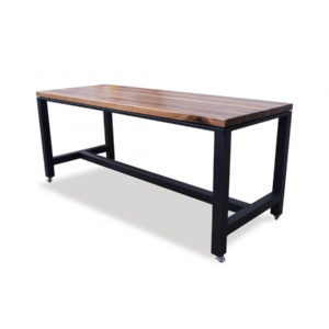 Walnut Butcher Block Kitchen Island