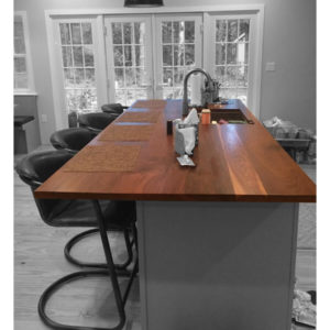 Walnut Flat Sawn Counter Top