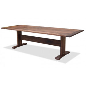 Shaker Walnut Trestle Table