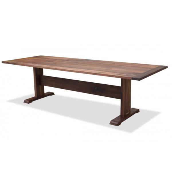 Shaker Walnut Trestle Table